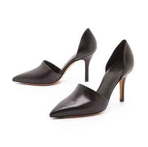 Vince Claire D'Orsay Leather Pumps